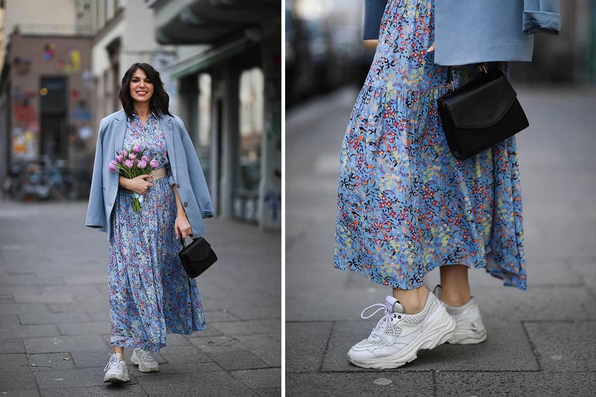 мода обувь весна 2021