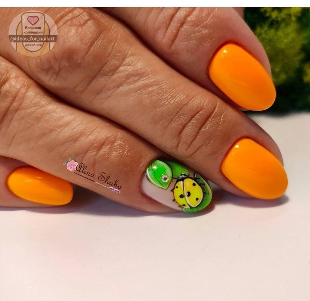 Круглая форма ногтей: 20 дизайнов самого востребованного маникюра - 14