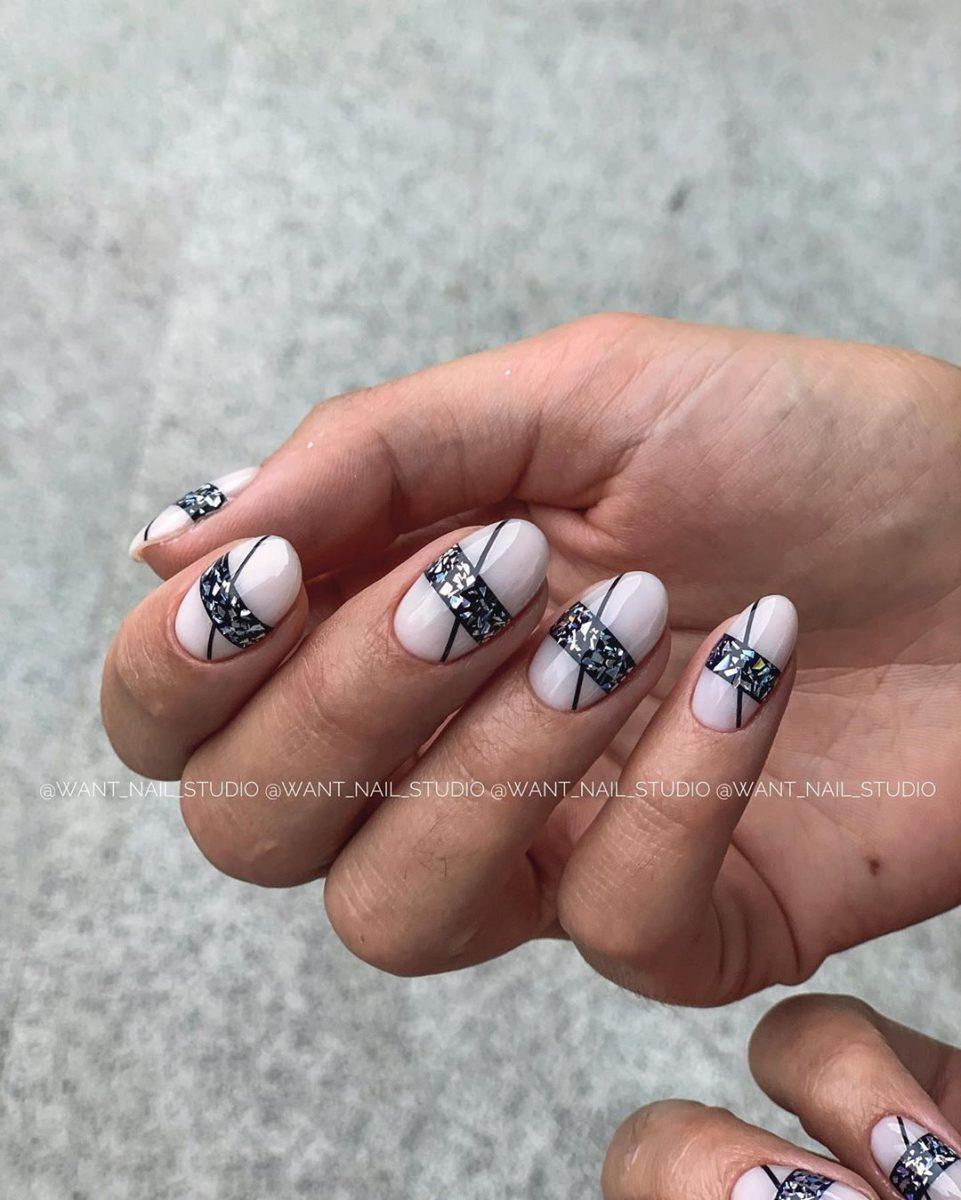 Круглая форма ногтей: 20 дизайнов самого востребованного маникюра - 6