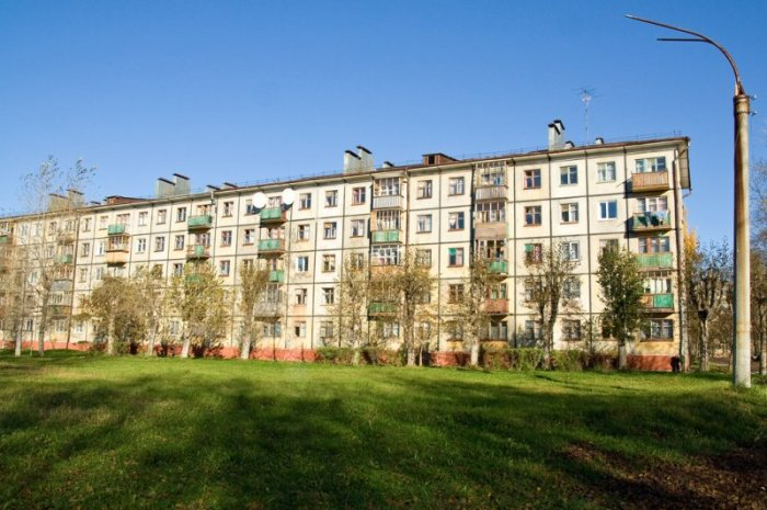 Домов строили много. ¦Фото: yandex.ru.