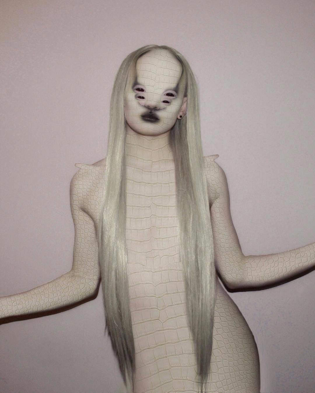 Сальвия – человек с неопределённым полом, Сальвия драг-квин