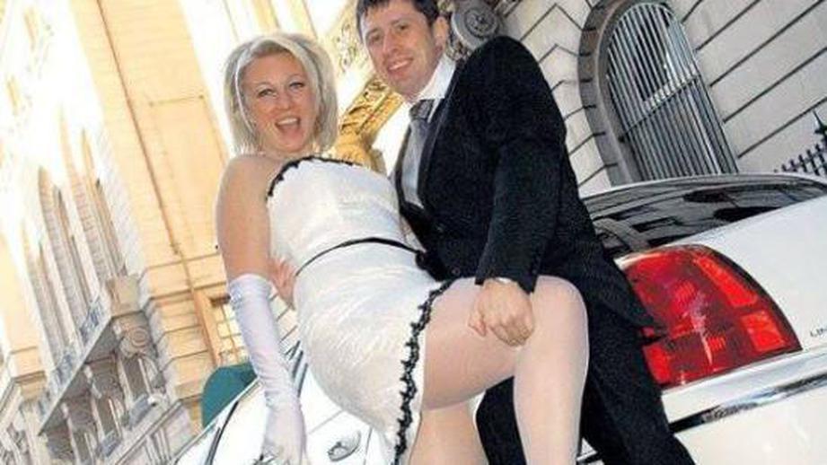 фото марии захаровой со свадьбы